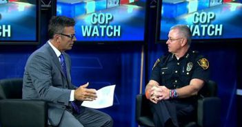 "Dallas ISD police chief discusses ""cop watching"""