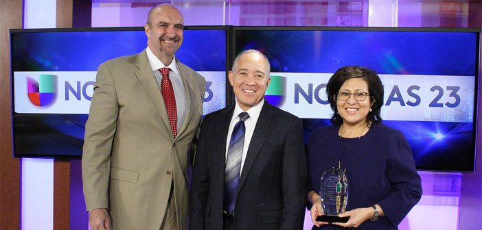 Univision GM Becky Muñoz-Díaz thanked for years of community service