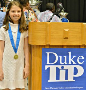 Travis Academy student honored for exceptional academic success