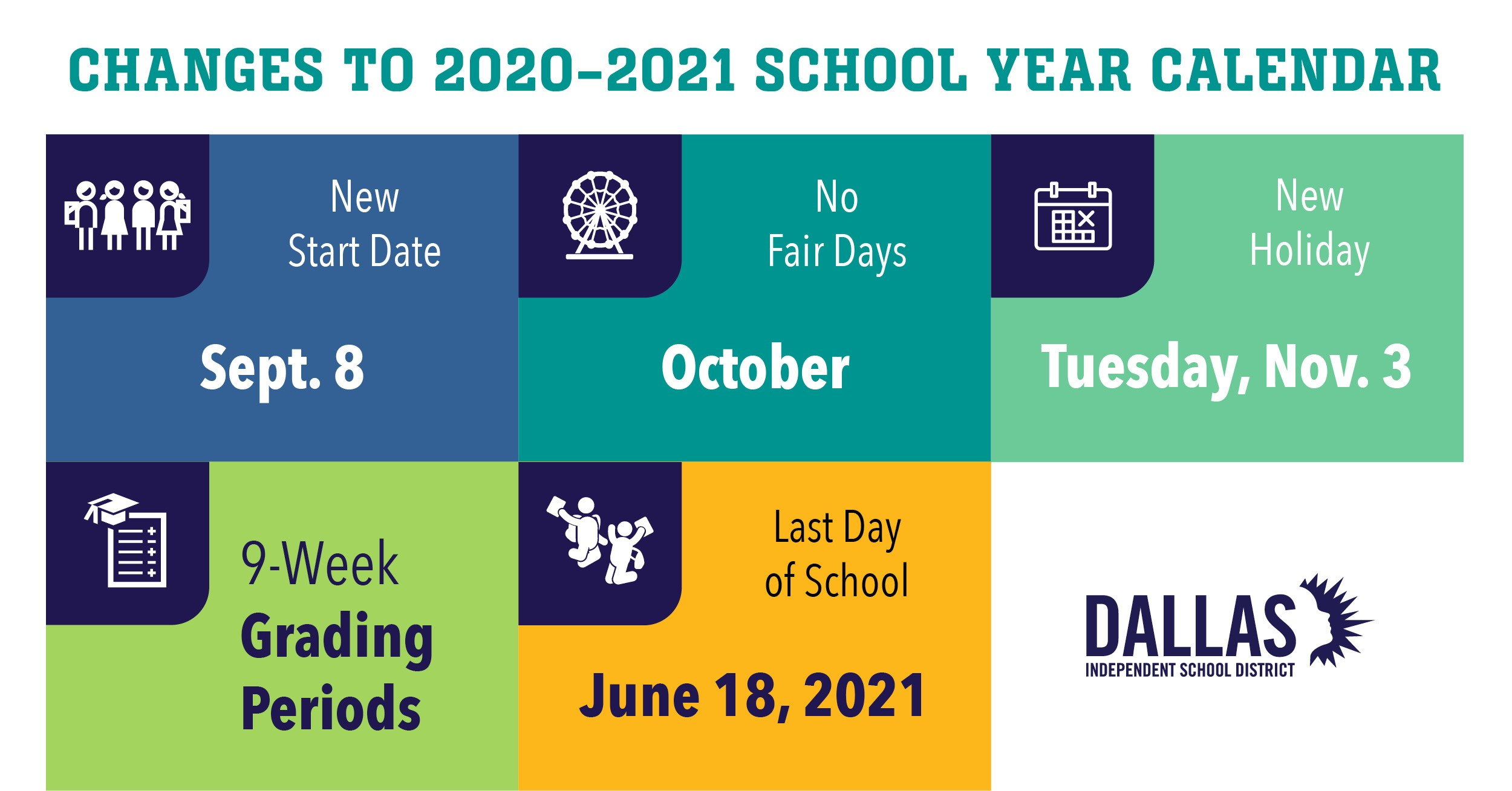 Dallas Isd 2021-22 Calendar Images
